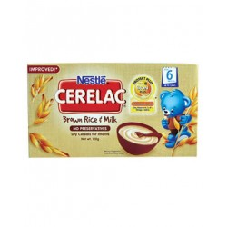 CERELAC BROWN RICE & MILK 120G
