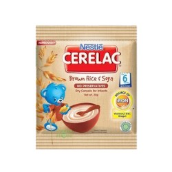 CERELAC BROWN RICE & SOYA 20G/25G