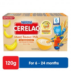 CERELAC WHEAT BANANA & MILK 120G