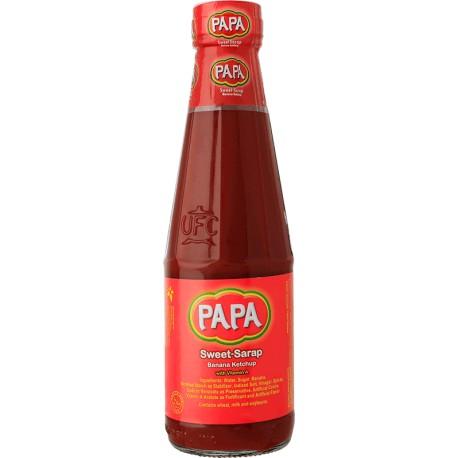 PAPA BANANA CATSUP SWEET SARAP ORIGINAL 320G