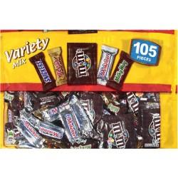 105 Variety Chocolate Mix 1610.3g