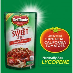 DEL MONTE SPAGHETTI SWEET STYLE SAUCE SUP 1KG
