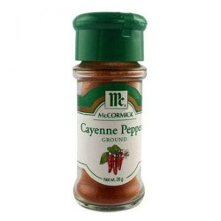 MCCORMICK RED CAYENNE PEPPER 26G
