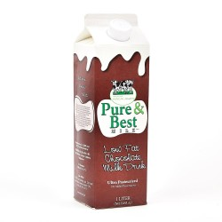 Pure & Best Low Fat Chocolate Milk Drink 1L