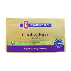 Emborg Cook And Bake Butter 200g