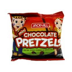 Jack & Jill Mini Chocolate Pretzels