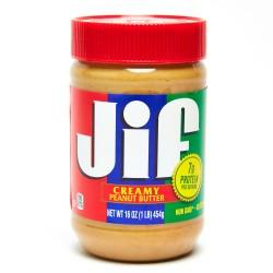 Jif Creamy Peanut Butter 16oz