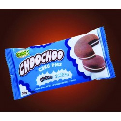 Lemon Square Choochoo Cake Pies Choco Vanilla 10s
