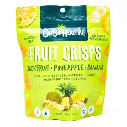 Oh So Healthy! Fruit Crisps Jackfruit Pineapple Banana 40g
