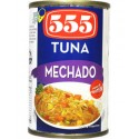 555 Tuna Flakes Mechado Easy Open Can 155G