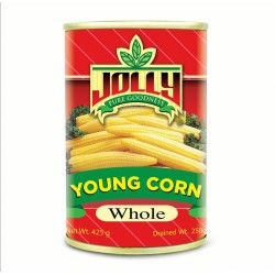 Jolly Whole Young Corn 425g