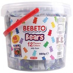 Bebeto Bears Jelly Gum 980g