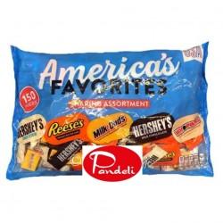 Hershey's America's Favorite Sharing Assortment 150pcs
