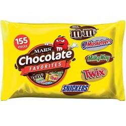 Mars Chocolate Favorites 155pcs