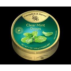 Cavendish & Harvey Clear Mint Drops 200g