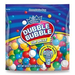 Dubble Bubble Gum Balls 1.5kg