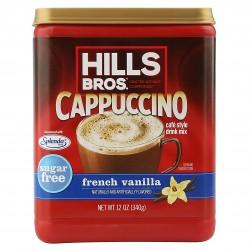 Hills Bros. Sugar-Free French Vanilla Cappuccino Instant Coffee Mix