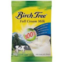 BIRCH TREE FULL CREAM MILK POWDER 80G