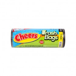 CHEERS TRASH BAG BLACK X- LARGE 37X40 10S
