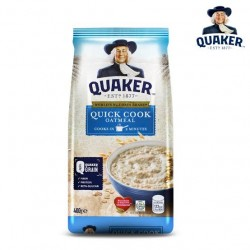 QUAKER QUICK COOKING OATMEAL 200G