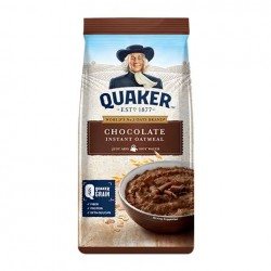 QUAKER INSTANT OATMEAL CHOCOLATE FLAVOR 200G