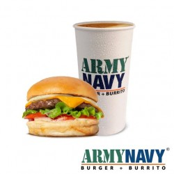 Army Navy California Burger (Single)