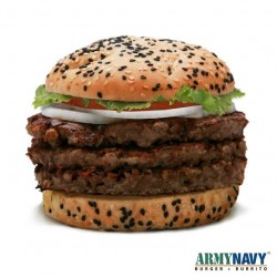 Army Navy Bully Boy Burger