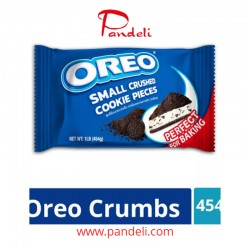 Oreo Small Crushed Cookie Pieces 454g