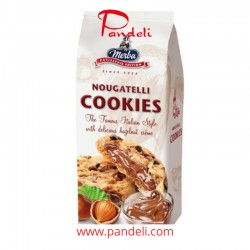Merba Nougatelli Cookies 200g