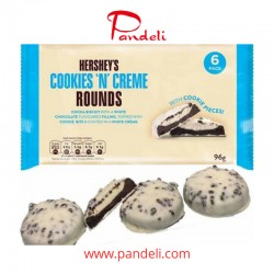 Hershey's Cookies & Cream Rounds Biscuit 96g