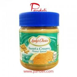 Lady's Choice Sweet & Creamy Peanut Spread 340g