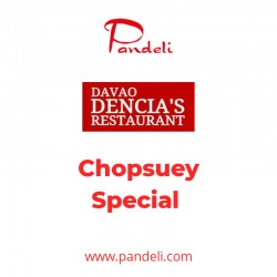 Dencia's Chopsuey Special