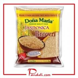 DOÑA MARIA PREMIUM QUALITY RICE JASPONICA BROWN 5KG