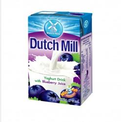 Dutch Mill UHT Yoghurt Drink Blueberry Juice 90ml