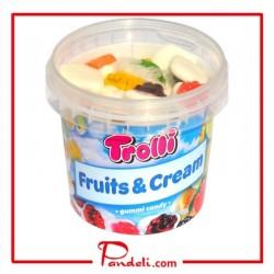 TROLLI FRUITS & CREAM 175G
