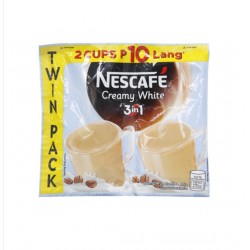 Nescafe 3 in 1 Creamy White Twin Pack 52 g x 5s