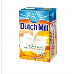 Dutch Mill UHT Yoghurt Drink with Orange Juice 90ml