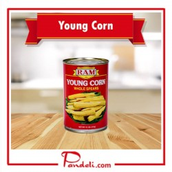 RAM YOUNG CORN WHOLE SPEARS 410G