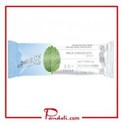 Amberlyn Milk Chocolate Mint Bar 34g SUGAR-FREE