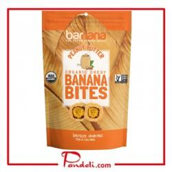 Barnana Organic Chewy Peanut Butter Banana Bites 100g