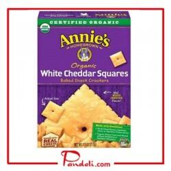 Annie's Homegrown Organic White Cheddar Squares 212g