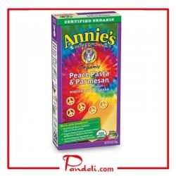 Annie's Homegrown Organic Peace Pasta & Parmesan 170g