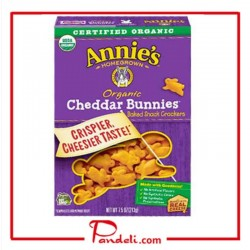 Annie's Homegrown Cheddar Bunnies 213g