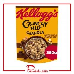 Kellog's Chocolate & Hazelnut Crunchy Nut Granola 380g