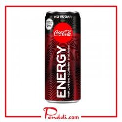Coca Cola Energy Drink No Sugar 250mL