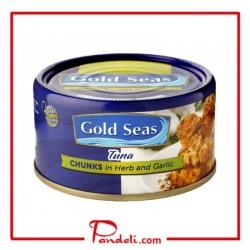 Gold Seas Tuna Chunks in Herb and Garlic 2 x 185g
