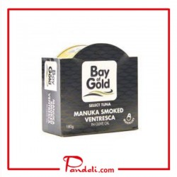 Bay of Gold Manuka Smoked Tuna Ventresca in Olive Oil 180g