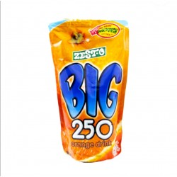 Zesto Big 250 Juice Drink Orange 250ml 10s