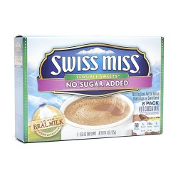 Swiss Miss Sensible Sweets No Sugar Added Hot Cocoa Mix 8 pack 8 x 55oz.