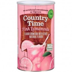 Country Time Pink Lemonade Mix Powdered Juice 2.33kg